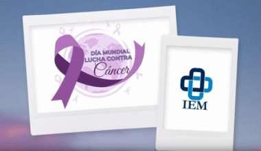 Día mundial de la lucha contra el cáncer.