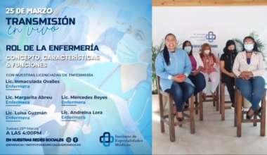 Rol de la Enfermería: Concepto, características y funciones.